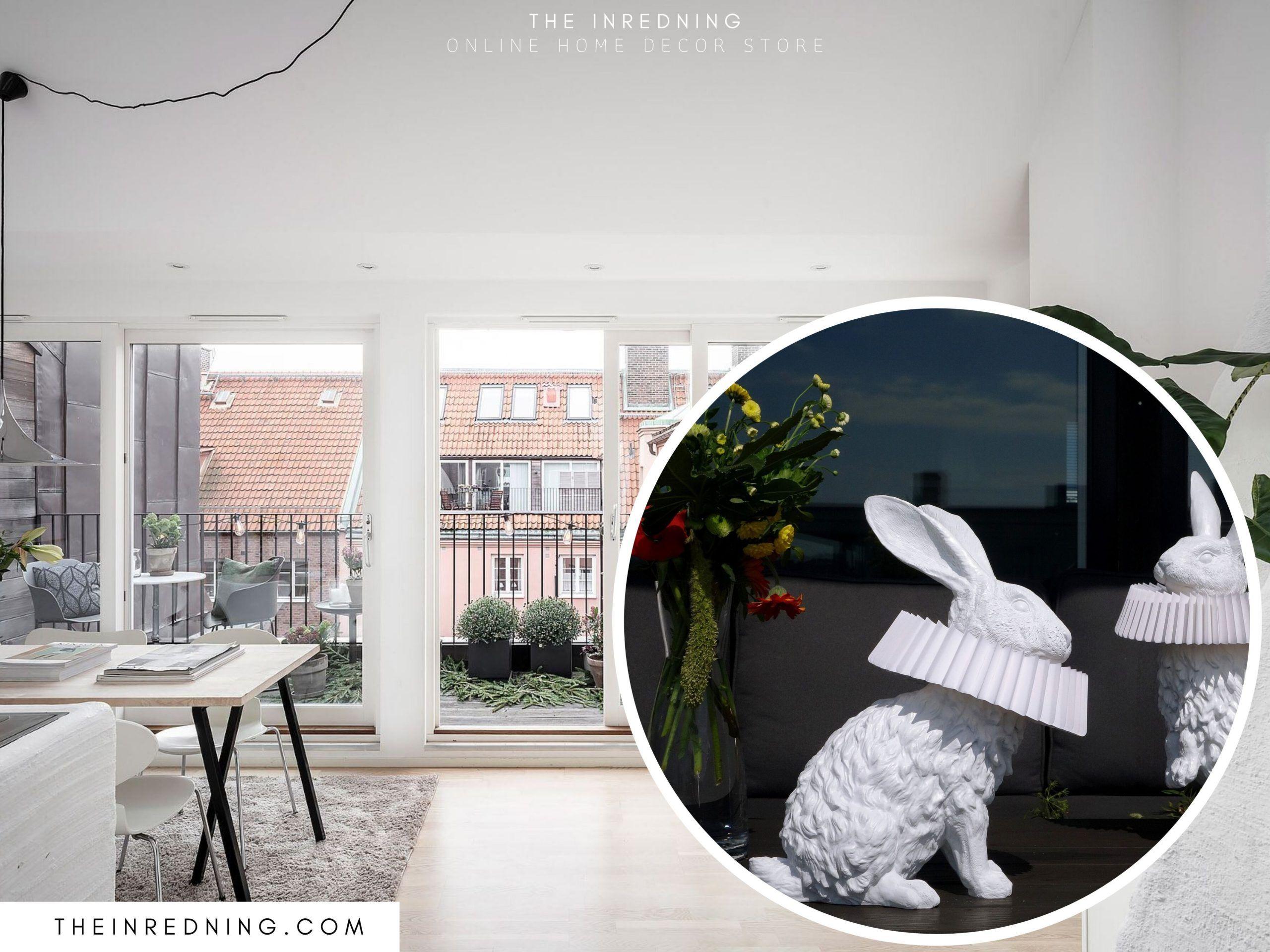 Hasenlampe Mit Dekorativer Skulptur Fur Wohnzimmer Schlafzimmer Kinderzimmer Kinder Zimmer Kinderzimmer Deko Skulpturen