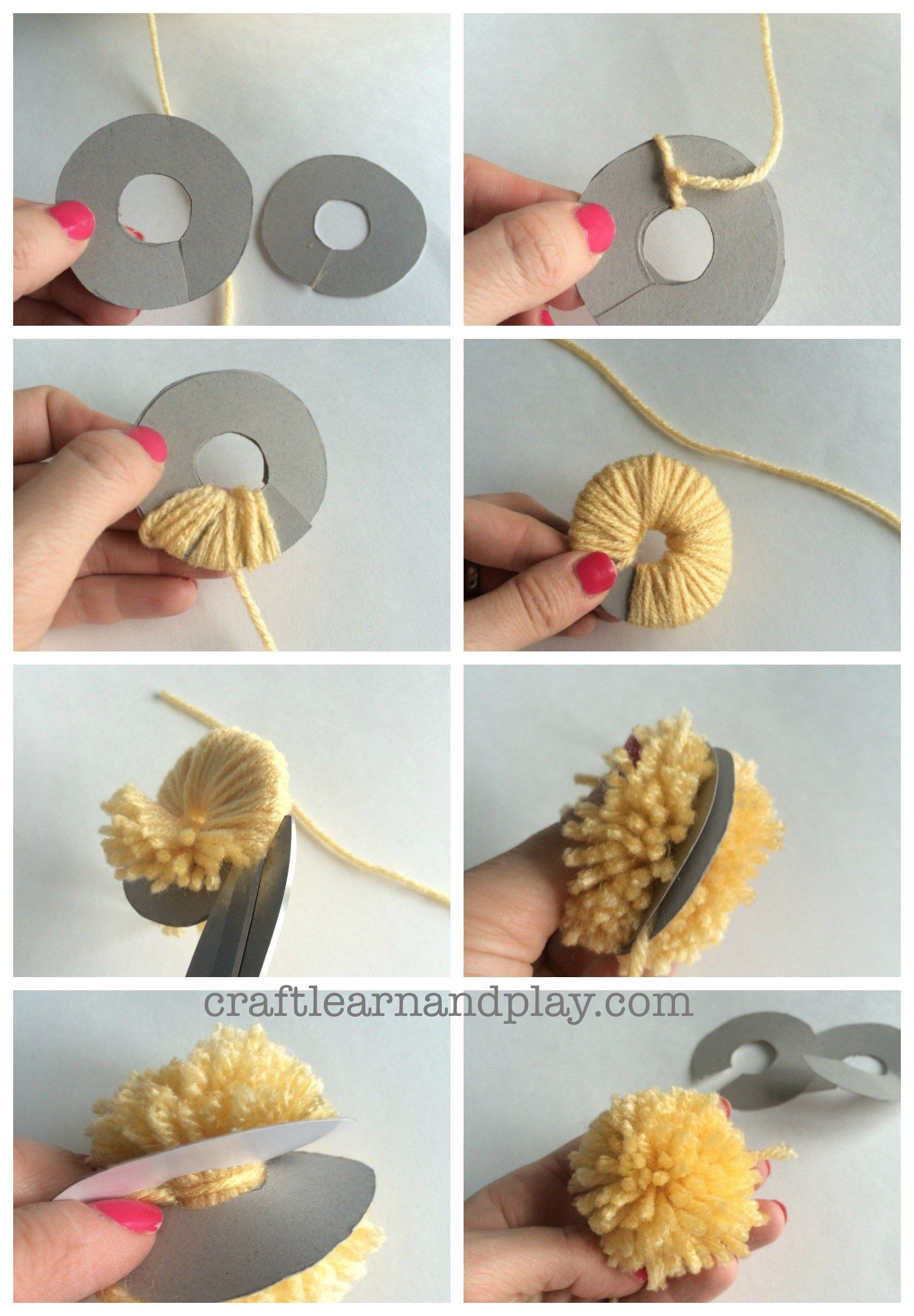 Photo of Learn How To Make A Pom Pom Easy Way
