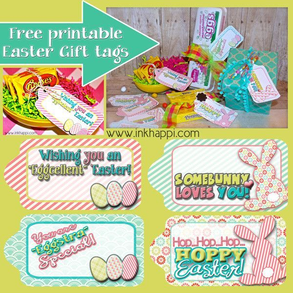 Easter gift tags to help wrap it pretty free printable easter easter gift tags to help wrap it pretty inkhappi negle Images
