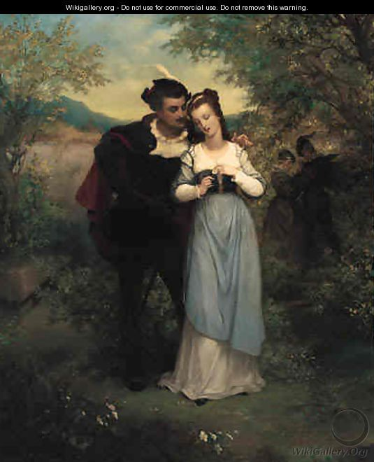 Faust and Marguerite by Pierre Gustave Eugene
