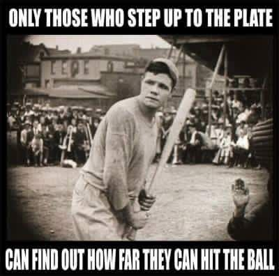 Babe Ruth Quotes Sports Analogy Baseball Babe Ruth Quotes Encouragement Message