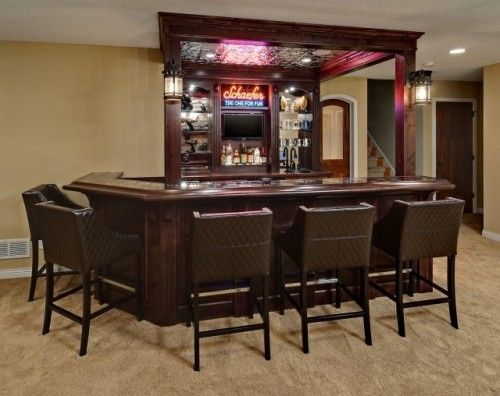 I Want A Bar In My Basement Well In The Future I Like How This