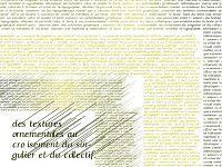 DSAA Création Typographique: Travaux