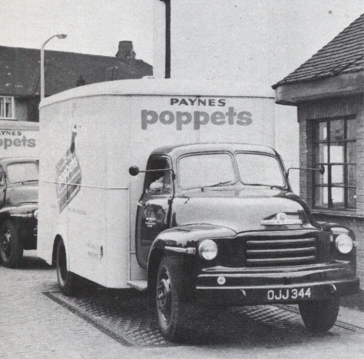 Poppets lorry