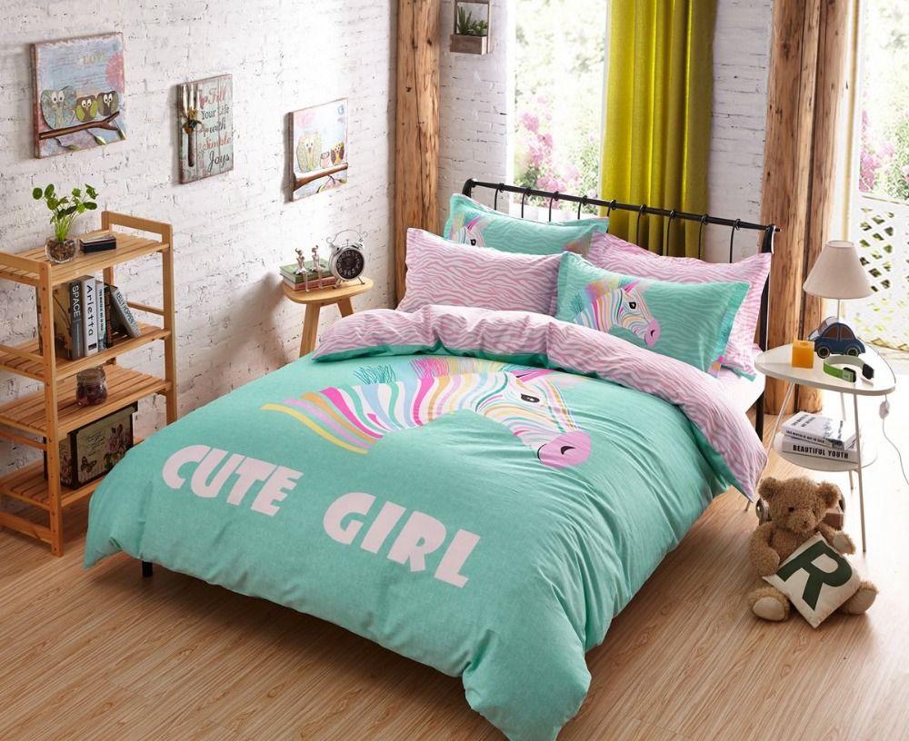 Brilliant Bett Teenager Dekoration Von Niedliche Tröster Sets Für Mädchen Süß-deckbett-sätze –