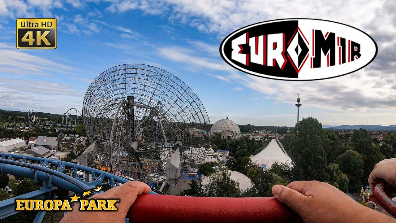2019 Euro Mir Roller Coaster On Ride Ultra Hd 4k Pov Europa Park Germany In 2020 Roller Coaster Park Thrill Ride