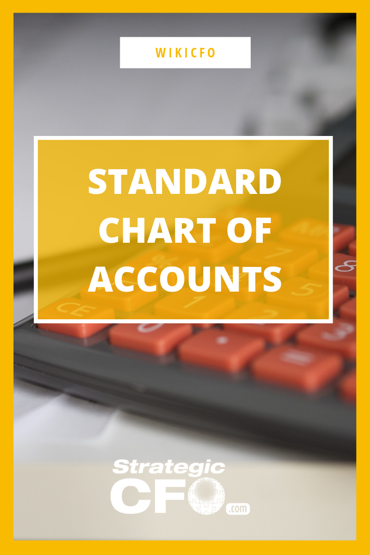 In accounting, a standard chart of accounts is a numbered list of