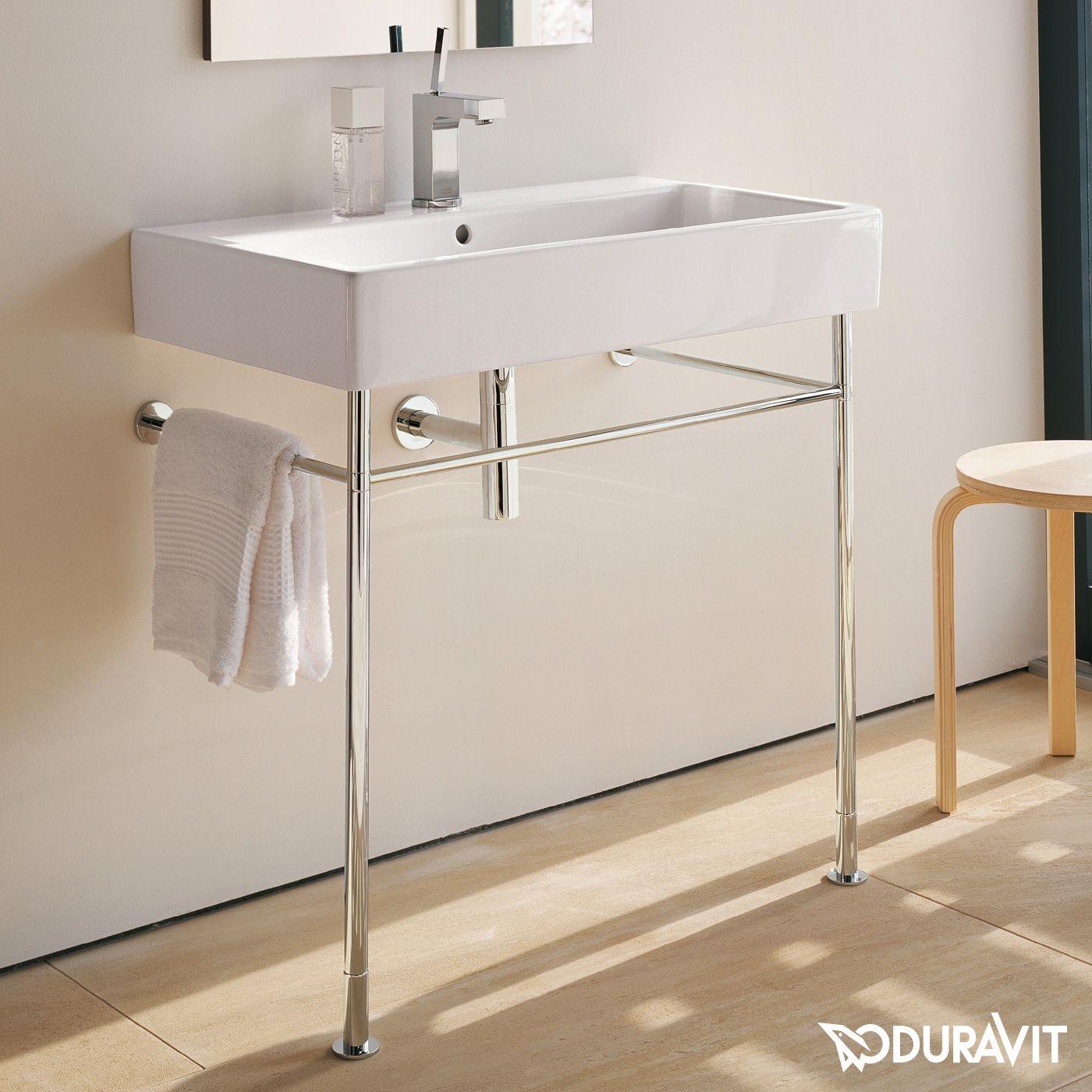 Duravit Vero metal console for washbasin