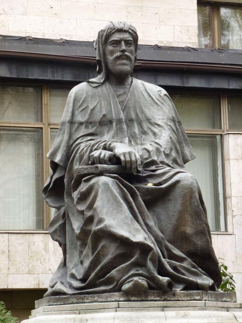 Nizami Gencevi Greek Statue Statue Art