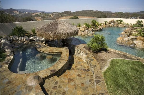 50 of the best residential natural pools by the master for Pool design usa