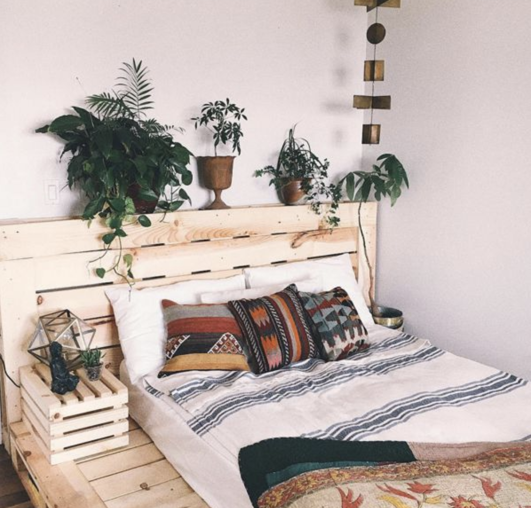Seen At Marie Claire Maison Bedroom Decor Pallet Bed Frame Diy