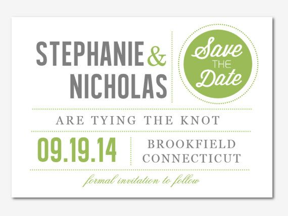 DIY Printable MS Word Wedding Save the Date Template by Inkpower - invitation designs free download