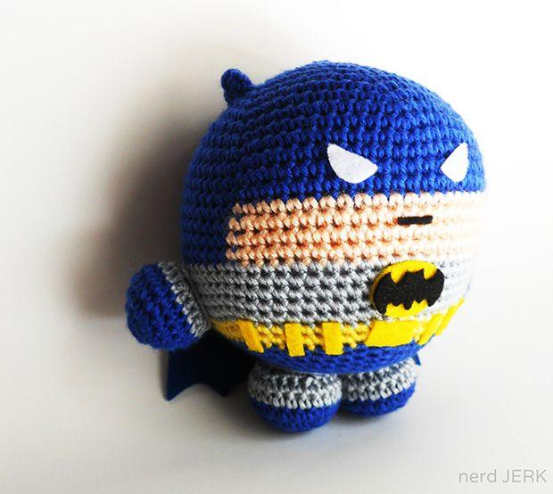 Amigurumi Lego Man : Batman :) Etsy Wednesday: Amigurumi-Style Stuffed Toys ...