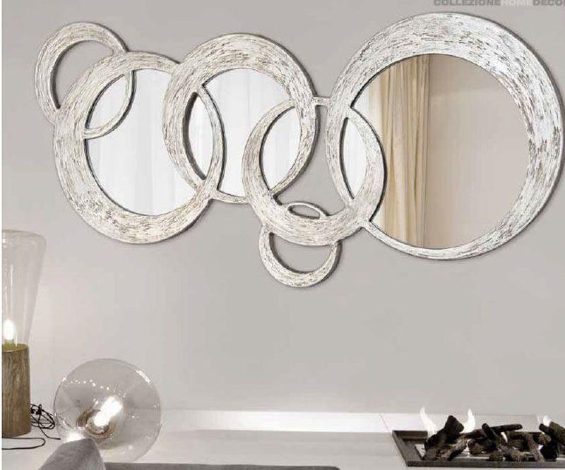 Espejos decorativos espejos artisticos deco pinterest for Marcos para espejos grandes modernos