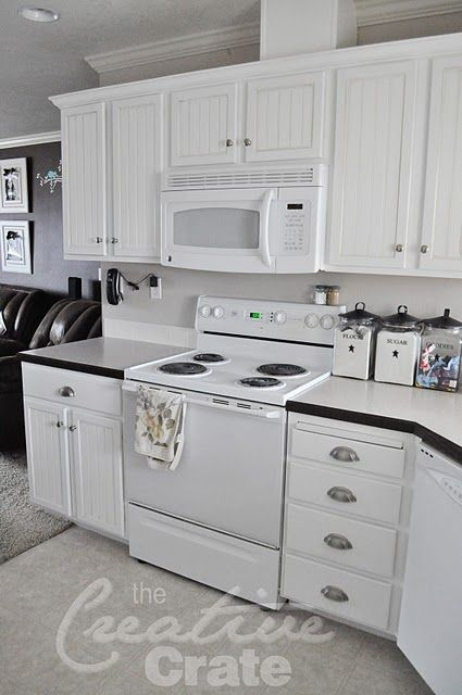 The Creative Crate Kitchen Cabinets Cabinet Transformations Redo Kitchen Cabinets