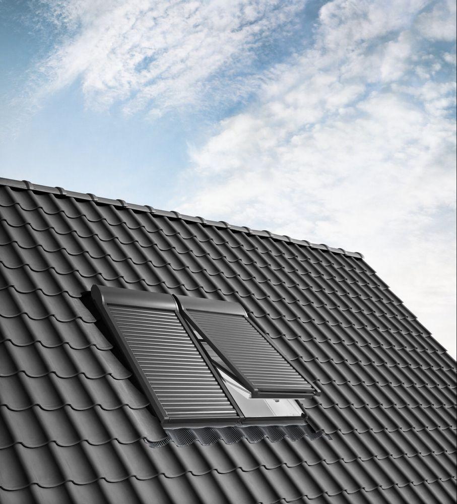 Velux Roller Shutter In 2020 Roller Shutters Shutters Roof Window