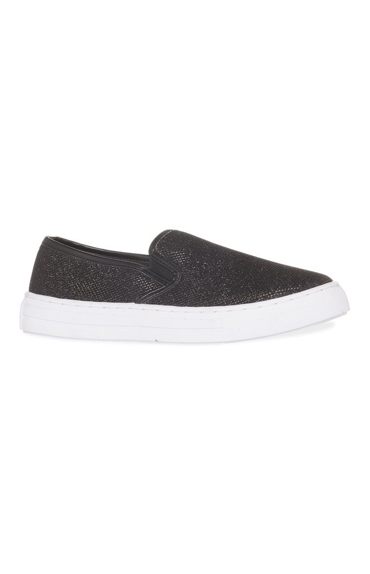 Primark Zapatillas con plataforma negras | zapatos