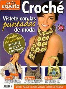 Esplendida revista de ropa y complementos crochet.