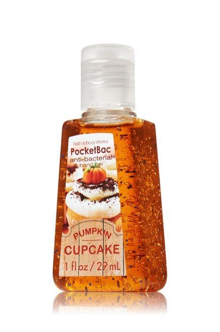 Pumpkin Cupcake Pocketbac Sanitizing Hand Gel Anti Bacterial
