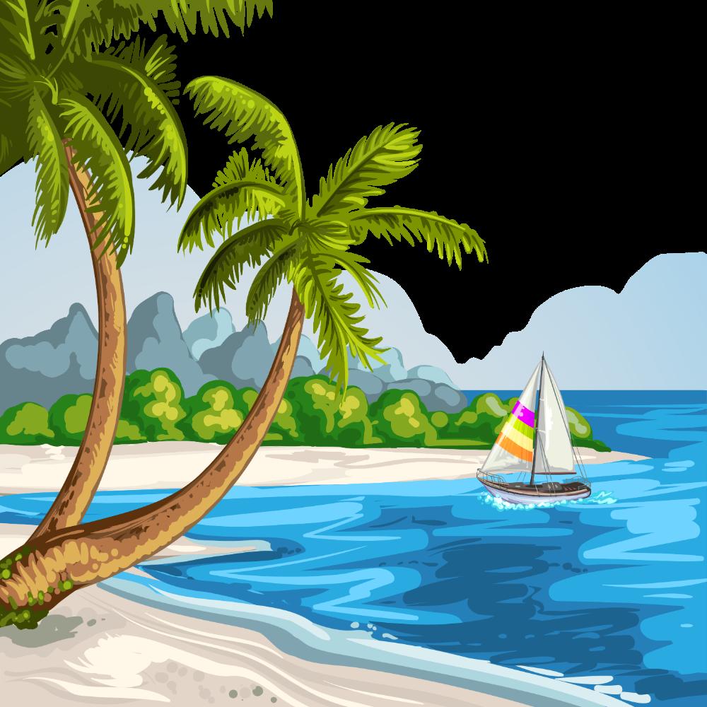 Google Image Result For Https Www Konfest Com Wp Content Uploads 2019 05 Konfest Png Jpg Image Pic Photo Fr Beach Illustration Beach Scenery Summer Landscape
