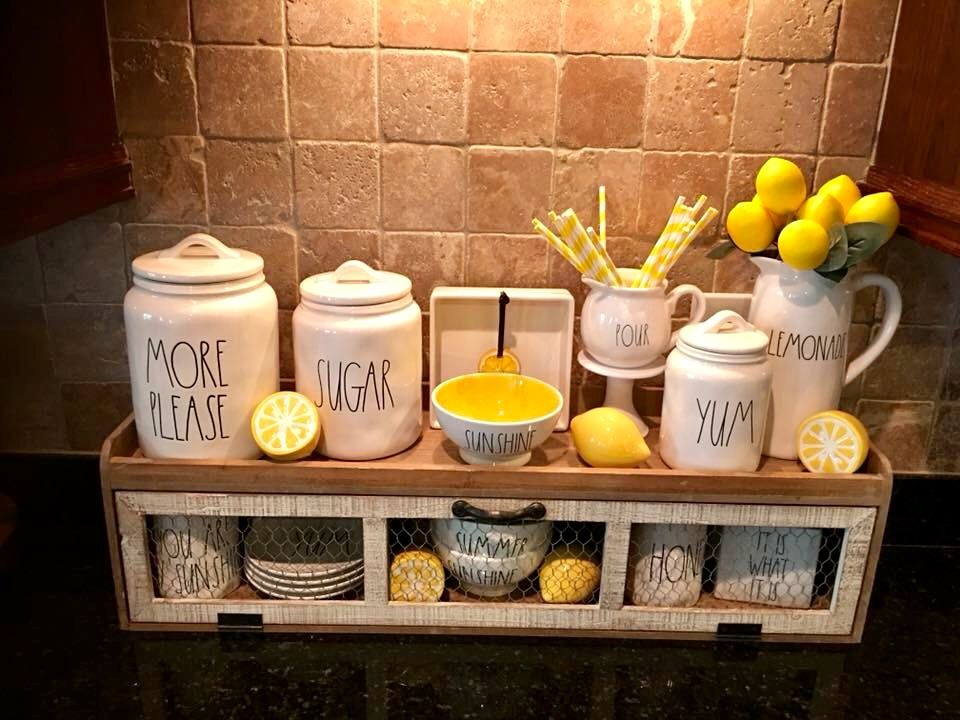 New Hobby Lobby Shelf Kitchen Decor Lemon Kitchen Decor