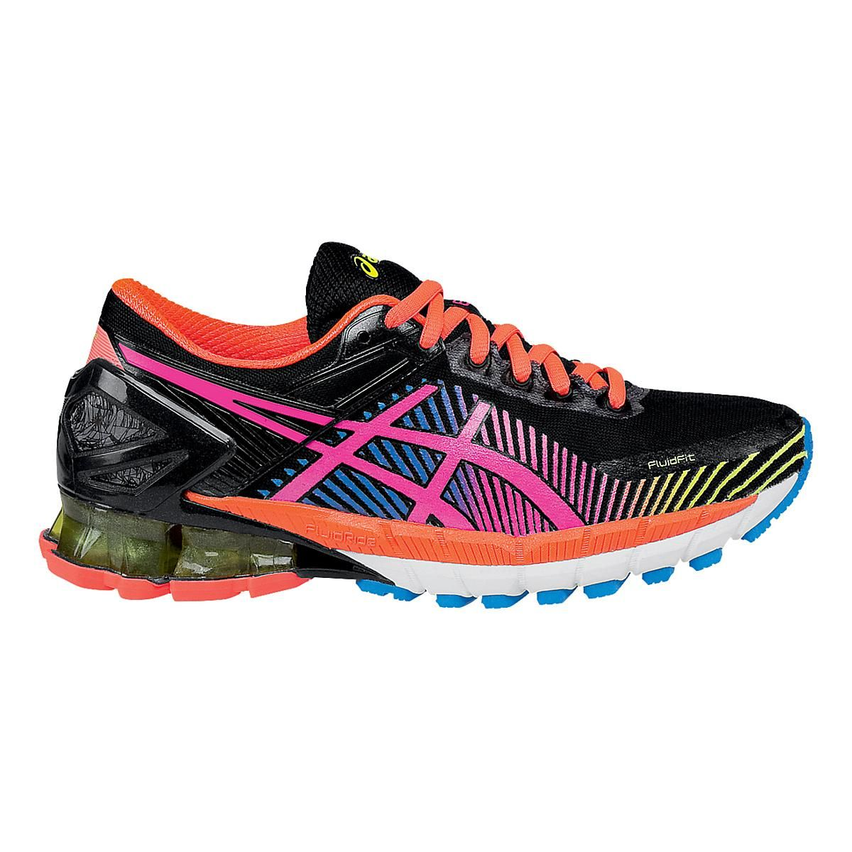 GELKinsei 6 (With images) Running shoes, Black running
