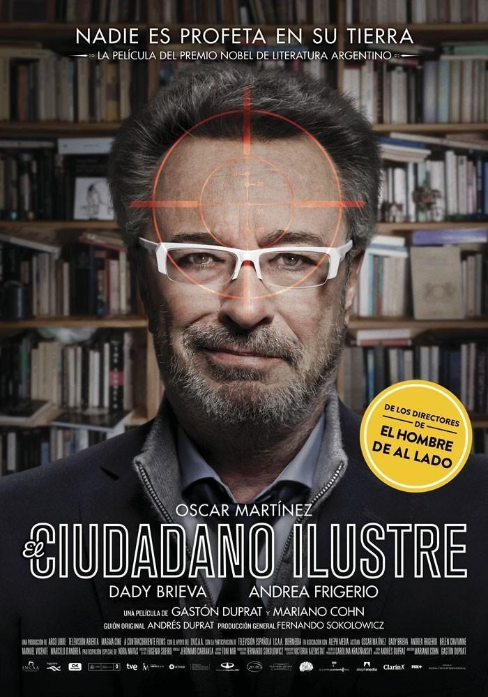 el_ciudadano_ilustre / Película desternillante / 2016: Premios Goya: Mejor película hispanoamericana