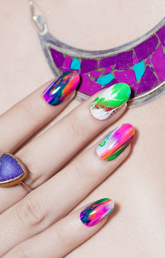 Different Strokes Ncla Designer Nail Wraps Whats Up Nails