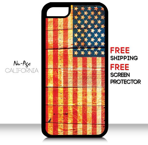 Wooden Background Iphone 5c Us Flag Case American By Nuageproducts 13 99 Flag Cases Iphone Background Case