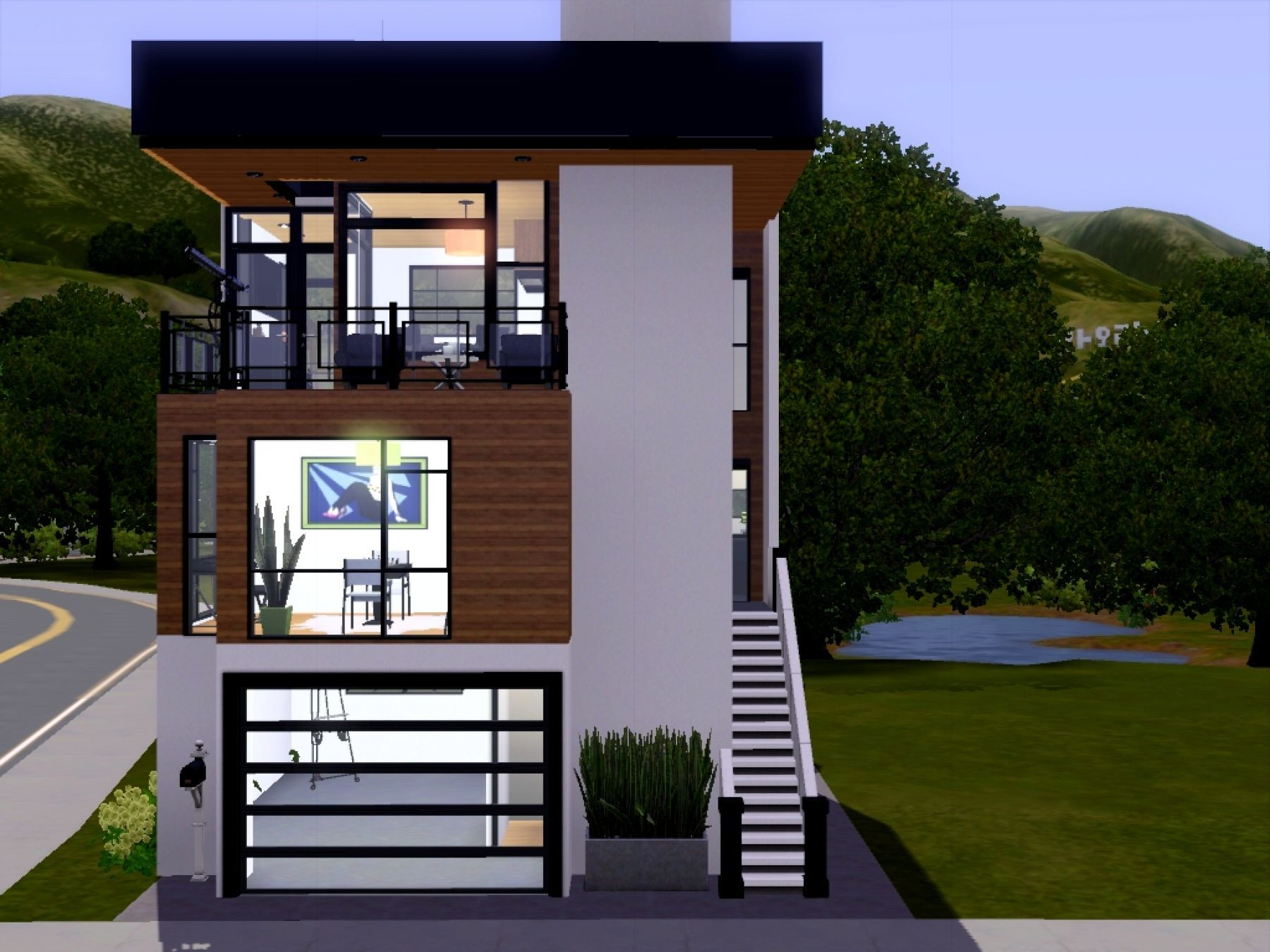 Small Lot House Plans Narrow Lot House Contemporary House Plans Narrow Lot House Plans