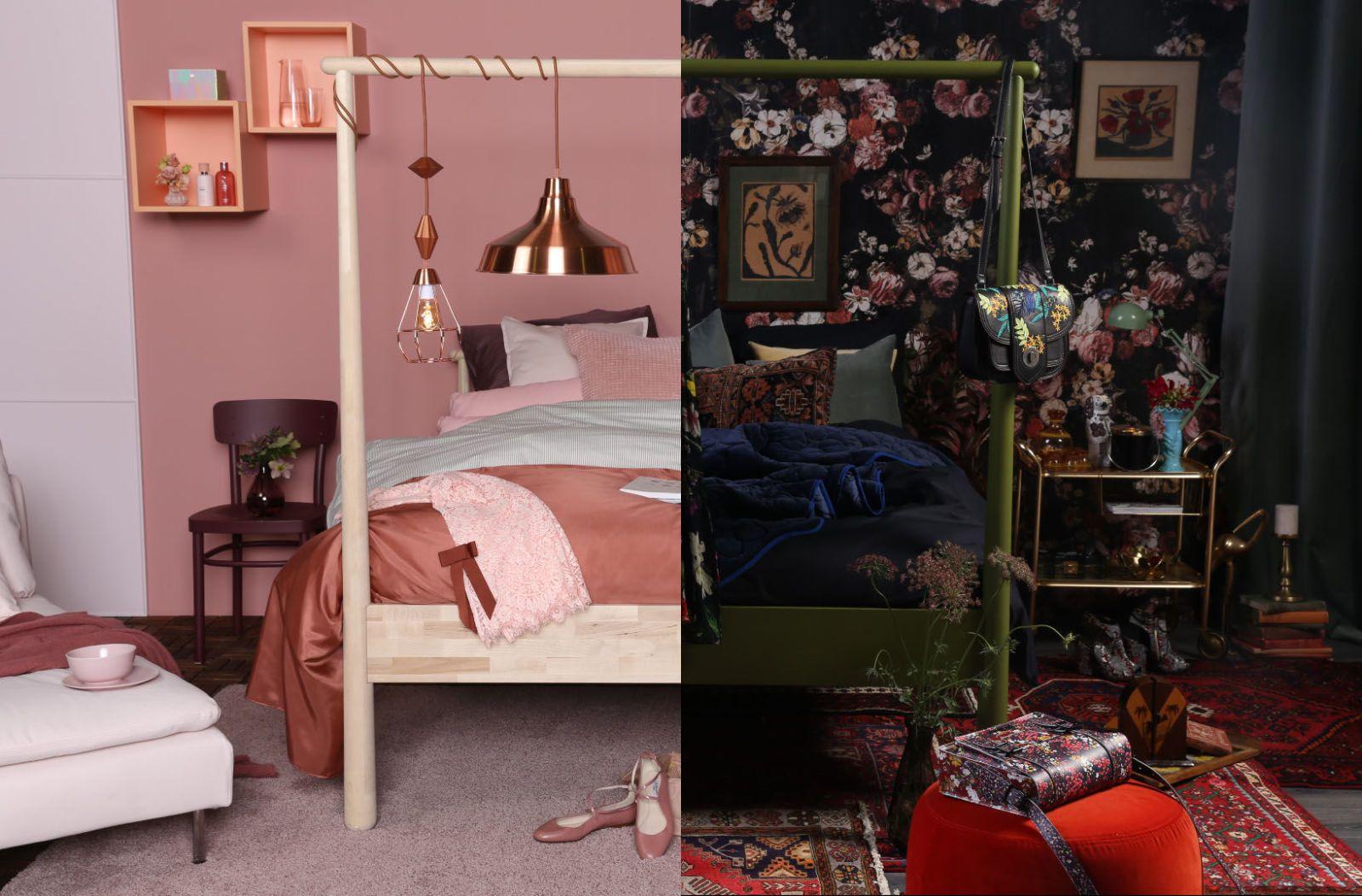 Slaapkamer Ideeen Romantisch : Slaapkamer ideeën romantisch pumpink slaapkamer muur kleur