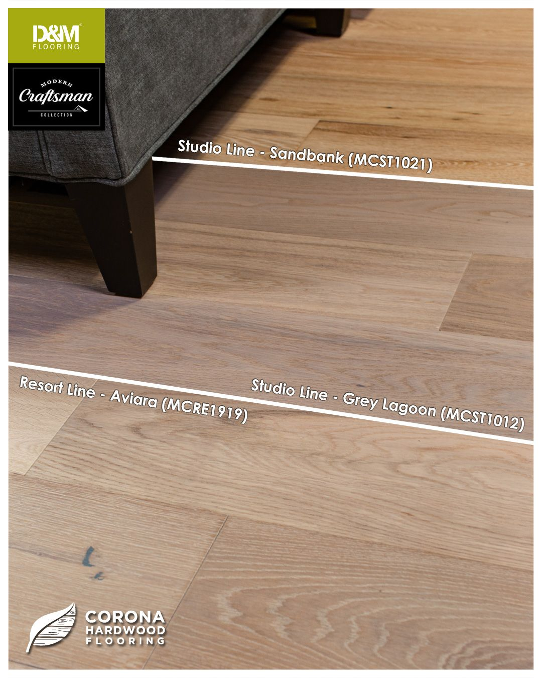 D M Unveiled Their Latest Engineered Hardwood Line And We Re Loving The Contemporary Looks And Naturals Along Wit In 2020 Modern Craftsman Engineered Hardwood Hardwood