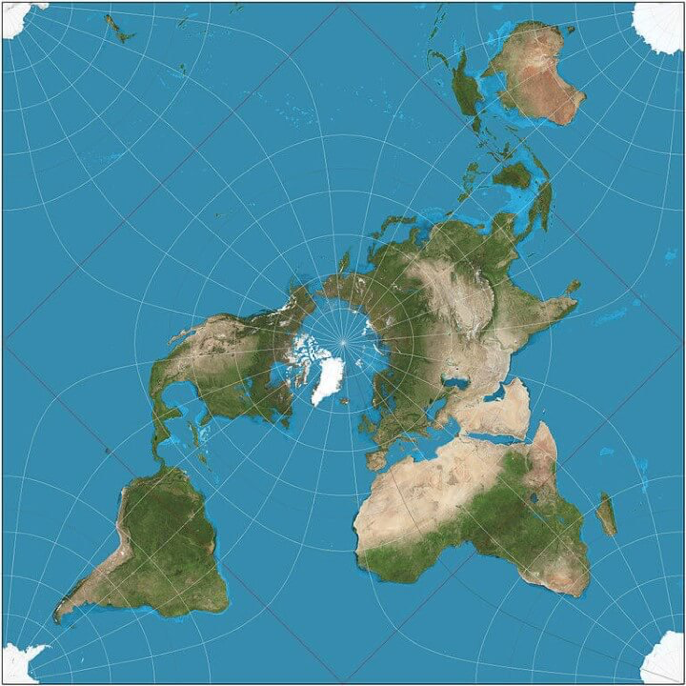 Peirce quincuncial projection map learn more about map projections peirce quincuncial projection map learn more about map projections here brilliantmaps gumiabroncs Gallery