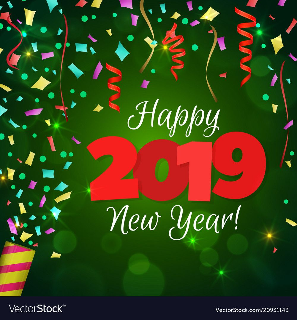 Found On Bing From Www Vectorstock Com Happy New Year Images Happy New Year Pictures Happy New Year Greetings