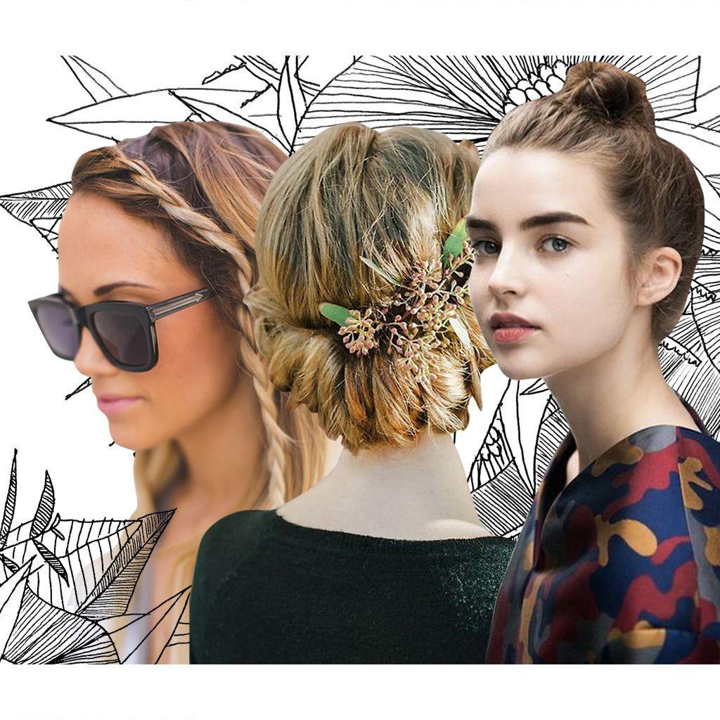 Les meilleures idées de coiffures cheveux mi longs automne