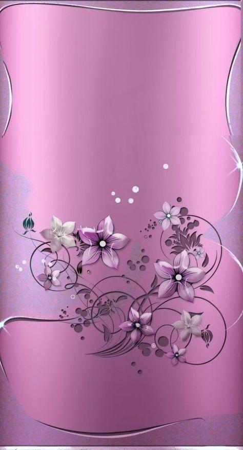 46+ trendy flowers purple wallpaper phone wallpapers