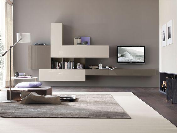 Mobili per soggiorno: parete attrezzata C102 | gruppotomasella.it ...