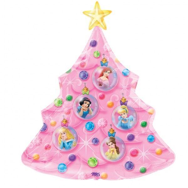 36 Disney Princess Christmas Tree Balloon Disney Balloons Bargain Balloons Foil Balloons