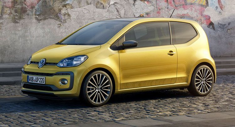 Facelifted Volkswagen Up Goes On Sale In Europe Volkswagen Up