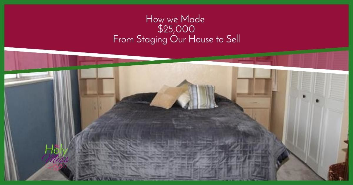 How We Made 25,000 From Staging a House to Sell|The Holy Mess