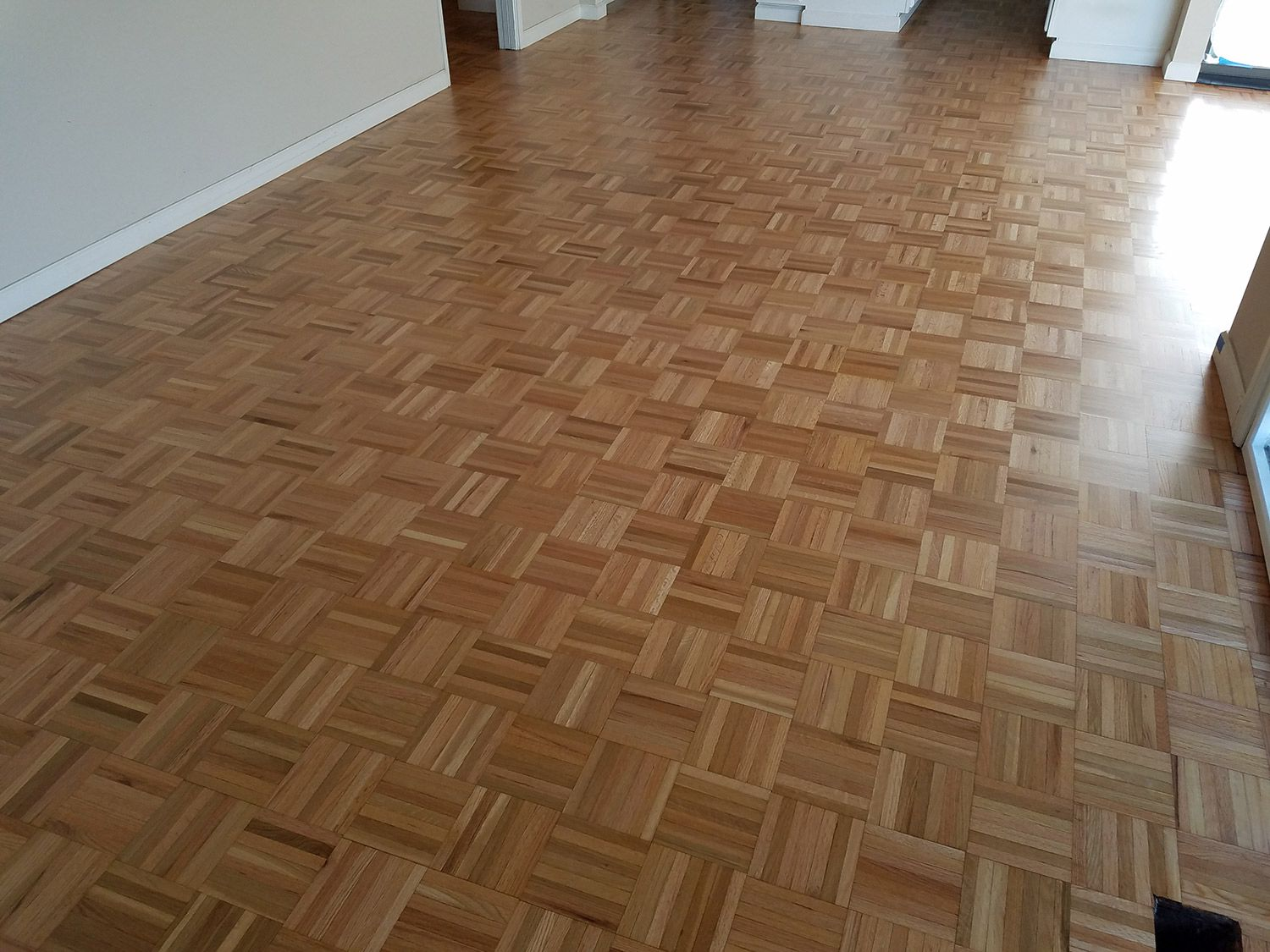 Refinishing Oak Parquet Floors