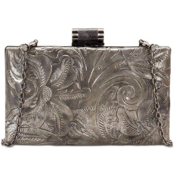 Patricia Nash Glitter Metallic Alora Frame Medium Clutch 99 Liked On Polyvore Featuring