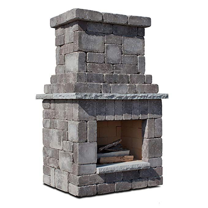 Amazon.com : Necessories Colonial Outdoor Fireplace in ...