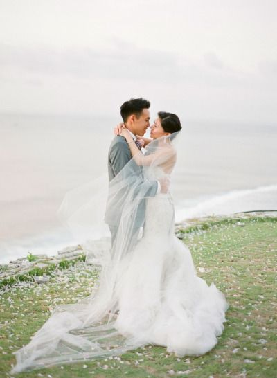 Romantic Cliff Top Wedding By The Sea In Bali