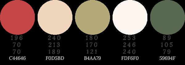 PALETAS COLORES NAVIDAD | Paletas de colores | Pinterest