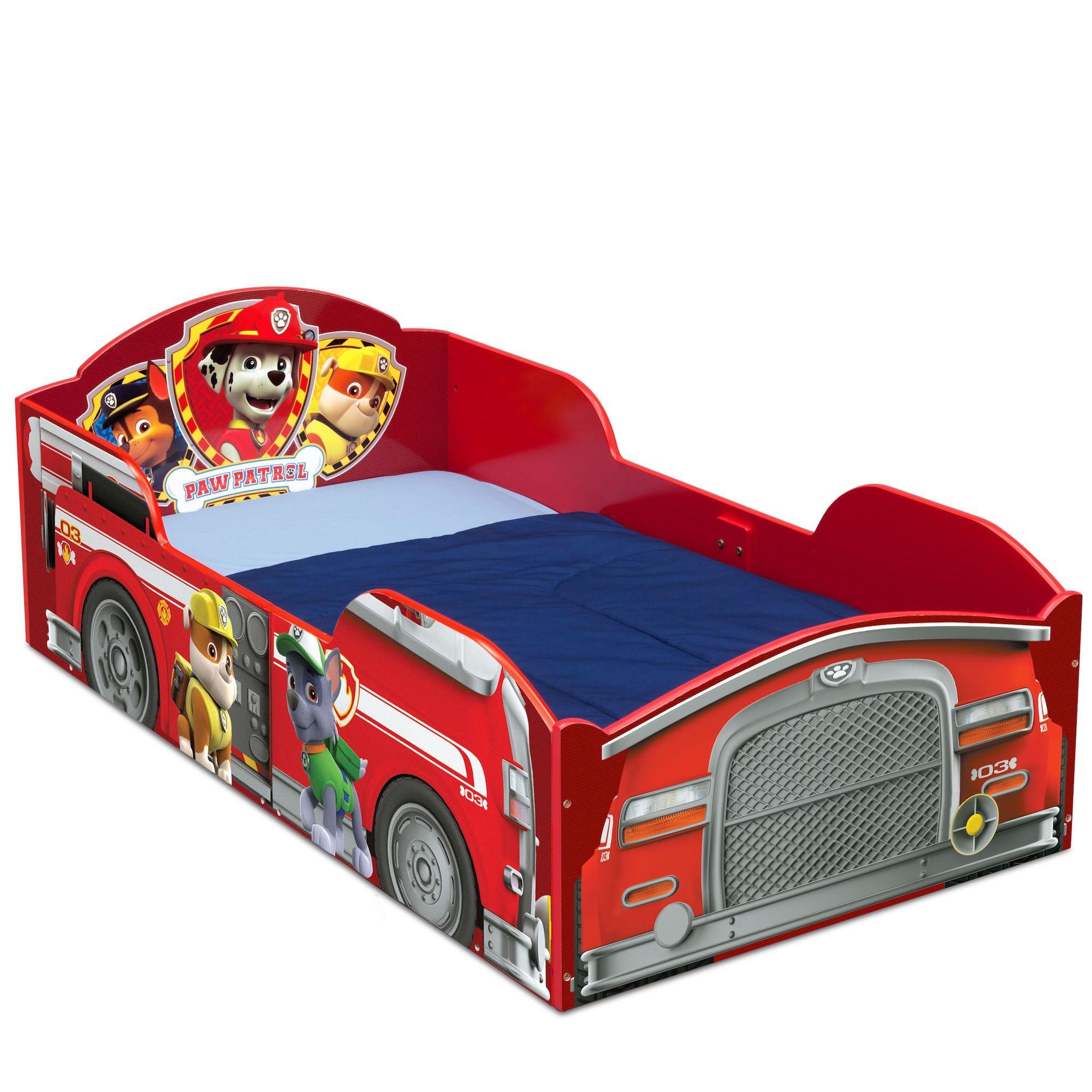 Delta Children Nick Jr PAW Patrol Wood Toddler Bed Red