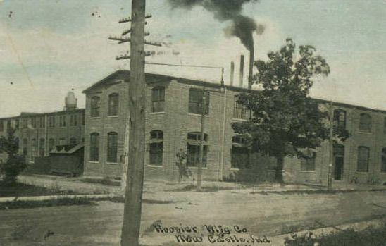 1910 New Castle Indiana Hoosier