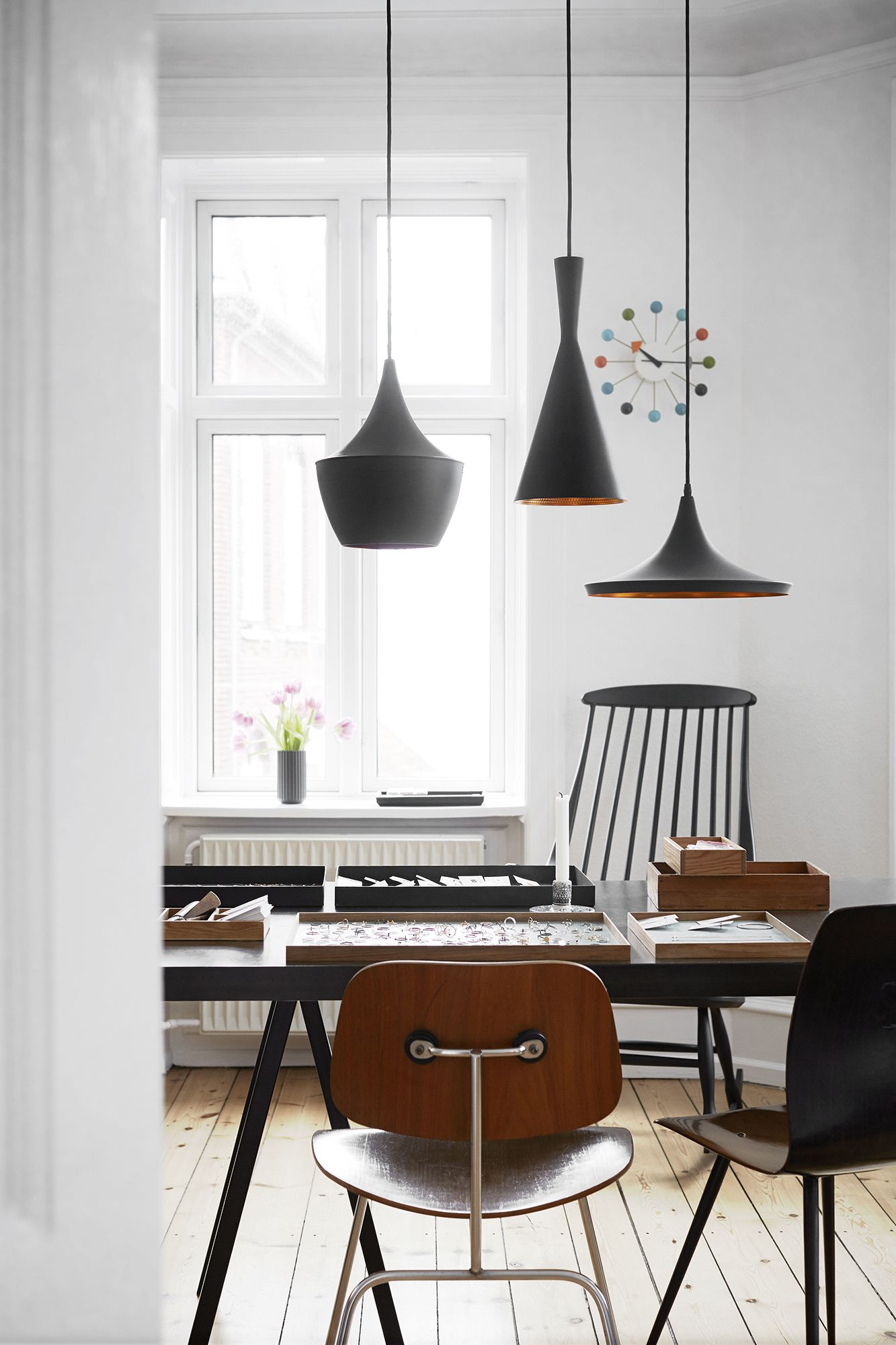 Danish home with new and old design classics | Home stuff ...