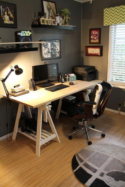 elegant shaped desk ikea australia batteryus nerdy home office tour ikea finnvard desk death star rug in