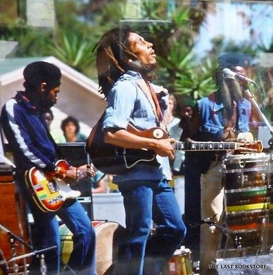 **Bob Marley & The Wailers** Santa Barbara County Bowl, Santa Barbara, CA, USA, May 31, 1976. ►►More fantastic pictures, music and videos of *Robert Nesta Marley & His Wailers* on: https://de.pinterest.com/ReggaeHeart/ ©Roger